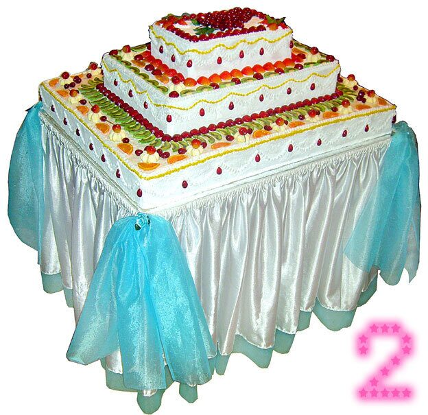 Бутафорский торт из бумаги
